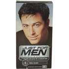 Shampoo-In Hair Color Real Black # H-55 by Just For Men
