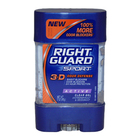 Sport 3-D Odor Defense Antiperspirant & Deodorant Clear Gel Active by Right Guard