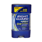 Sport 3-D Odor Defense Antiperspirant & Deodorant Clear Gel Fresh by Right Guard
