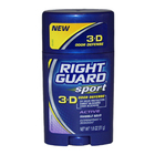 Sport 3-D Odor Defense Antiperspirant & Deodorant Invisible Solid Active by Right Guard