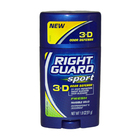 Sport 3-D Odor Defense Antiperspirant & Deodorant Invisible Solid Fresh by Right Guard