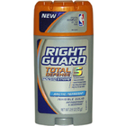 Total Defense Power Stripe Invisible Solid Arctic Refresh Antiperspirant Deodora by Right Guard