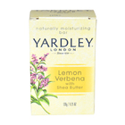 Lemon Verbena With Shea Butter Bar Soap by Yardley